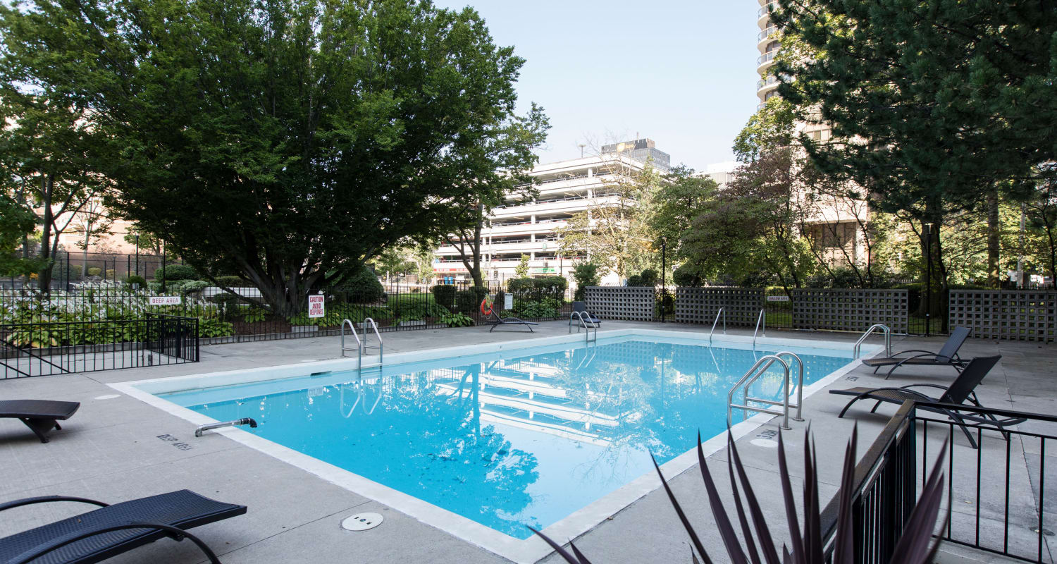 Swimming Pool at Bretton Place in Toronto Ontario