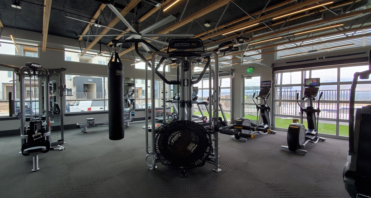 Our Apartments in Colorado Springs, Colorado offer a Fitness Center