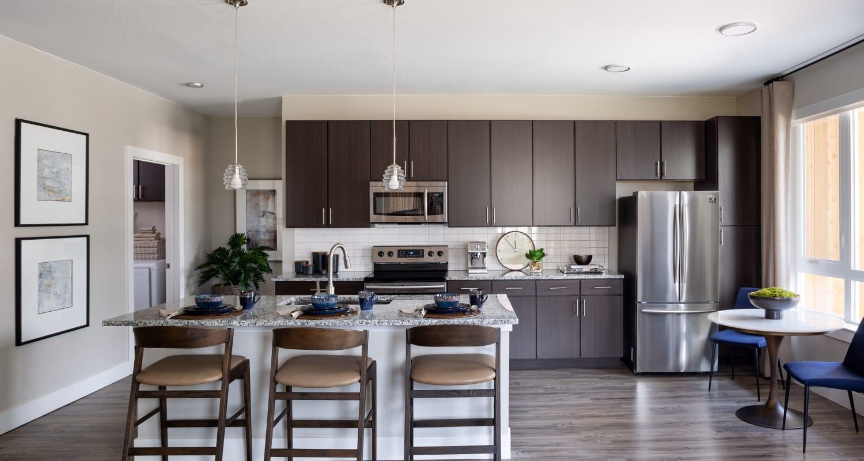 Modern spacious kitchen at FalconView