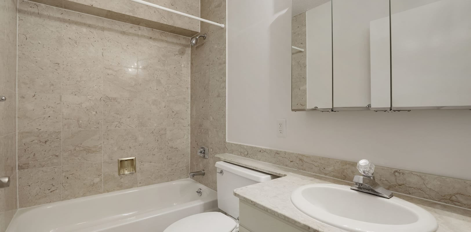 Bathroom at 140 Prospect in Hackensack, New Jersey