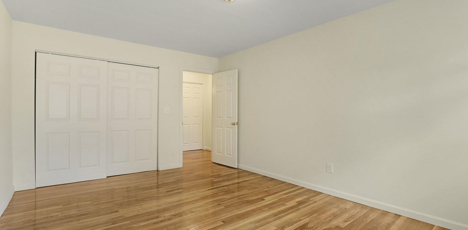 Cozy bedroom at Balmoral Arms in Matawan, New Jersey