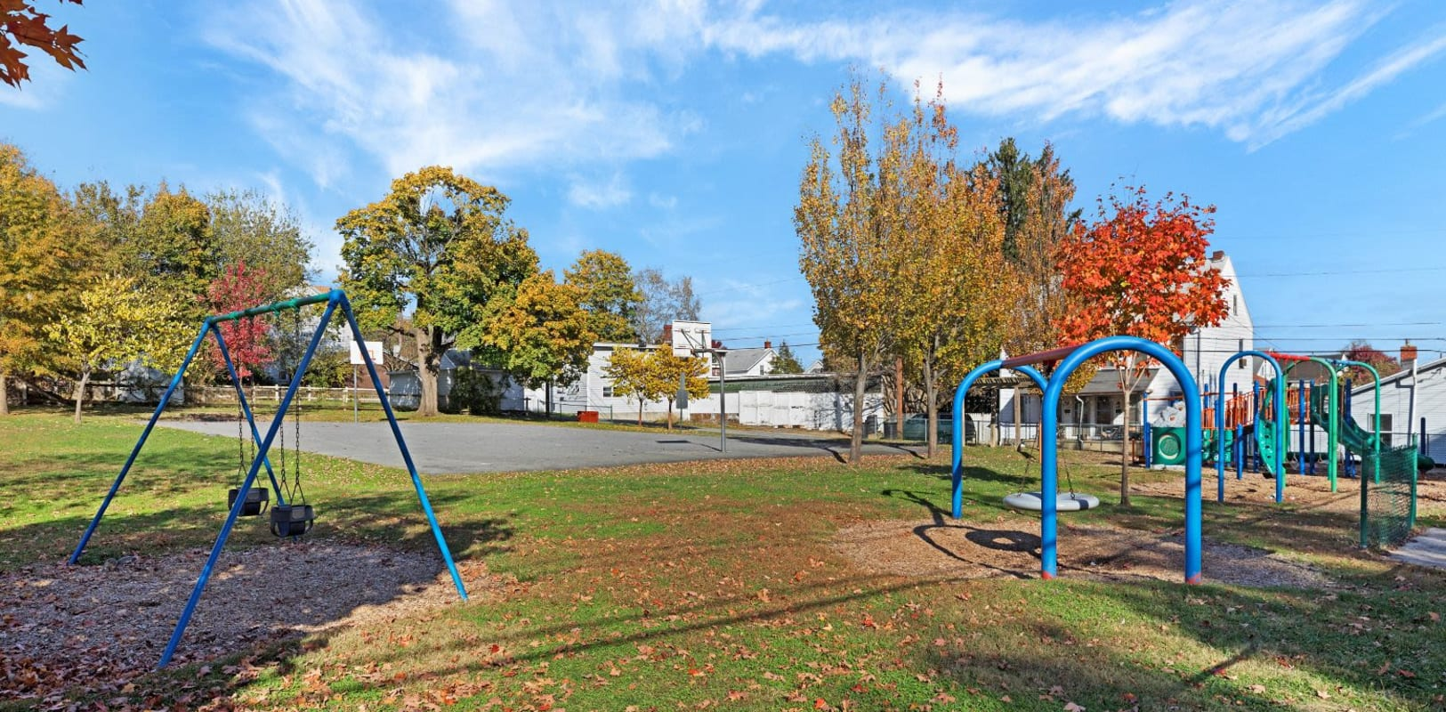 Playground at Bethlehem Towers in Bethlehem, Pennsylvania
