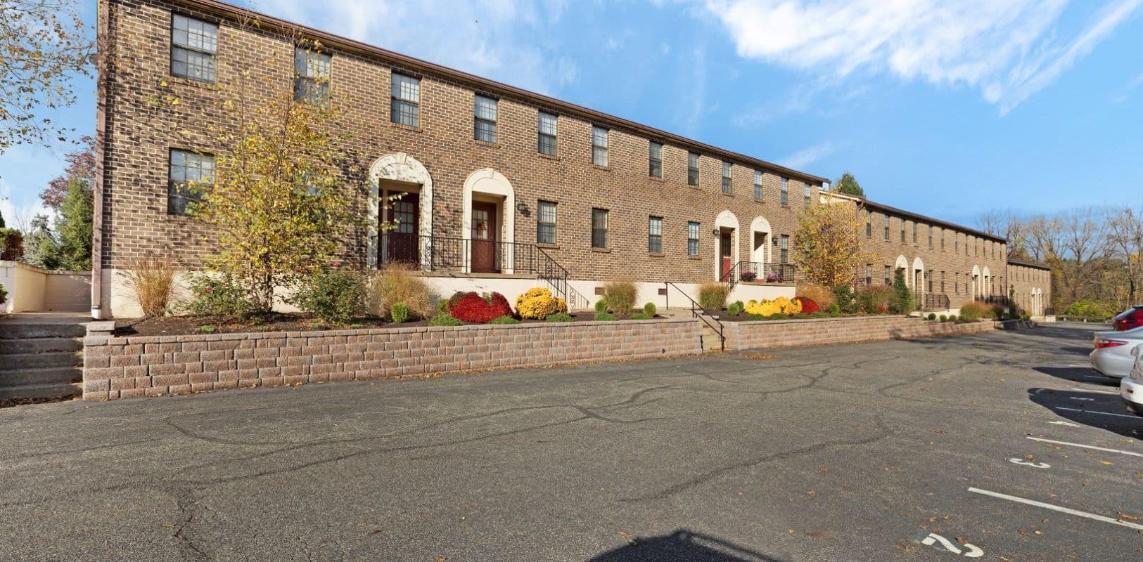 Exterior of Bridle Path Apartments in Bethlehem, Pennsylvania