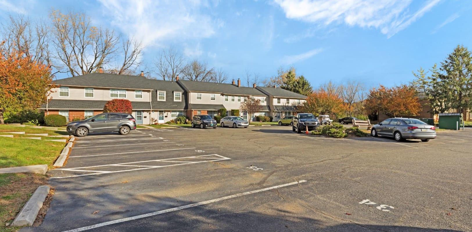 Parking spot at Bridle Path Apartments in Bethlehem, Pennsylvania