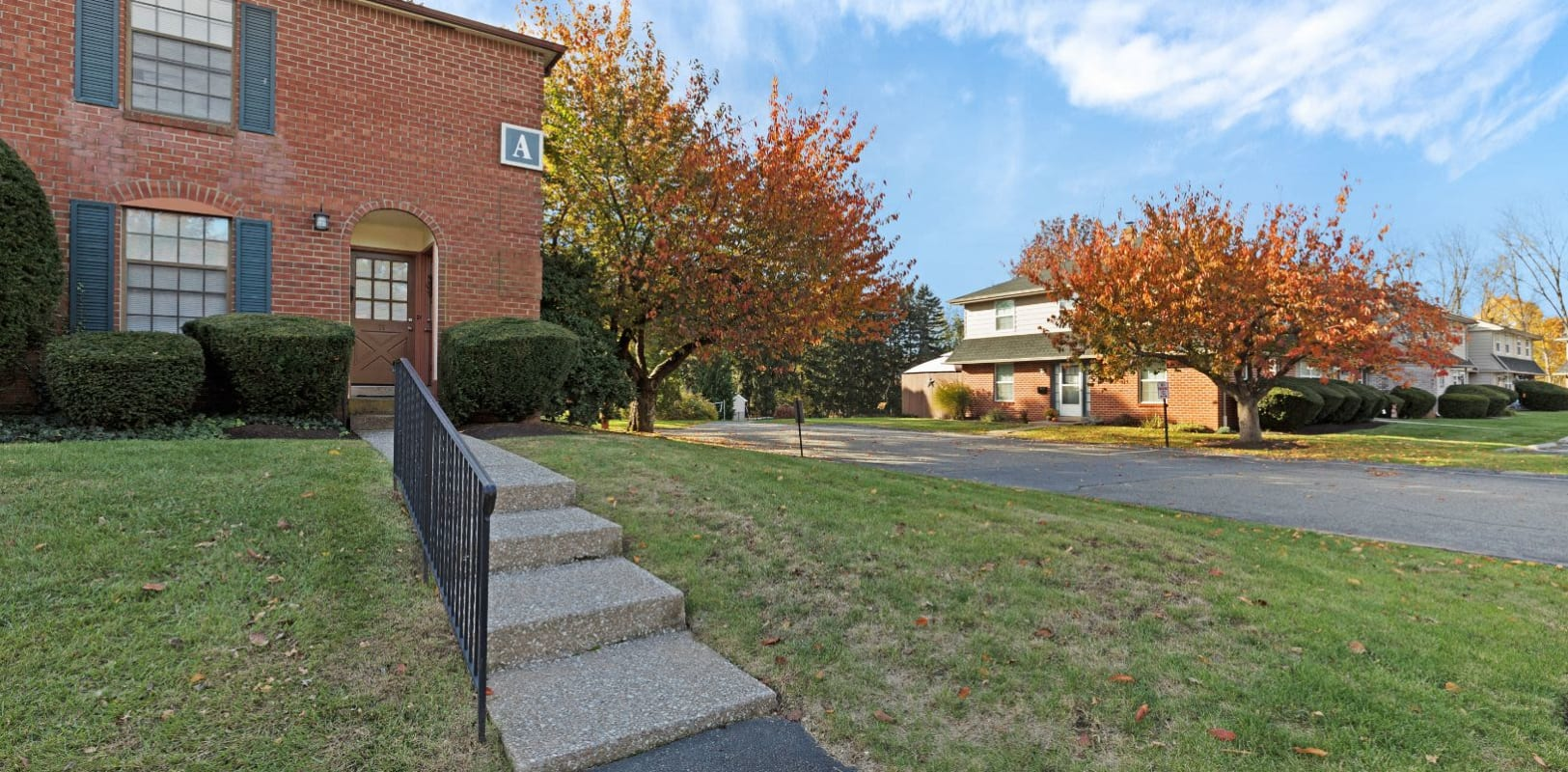 Stair to Bridle Path Apartments in Bethlehem, Pennsylvania