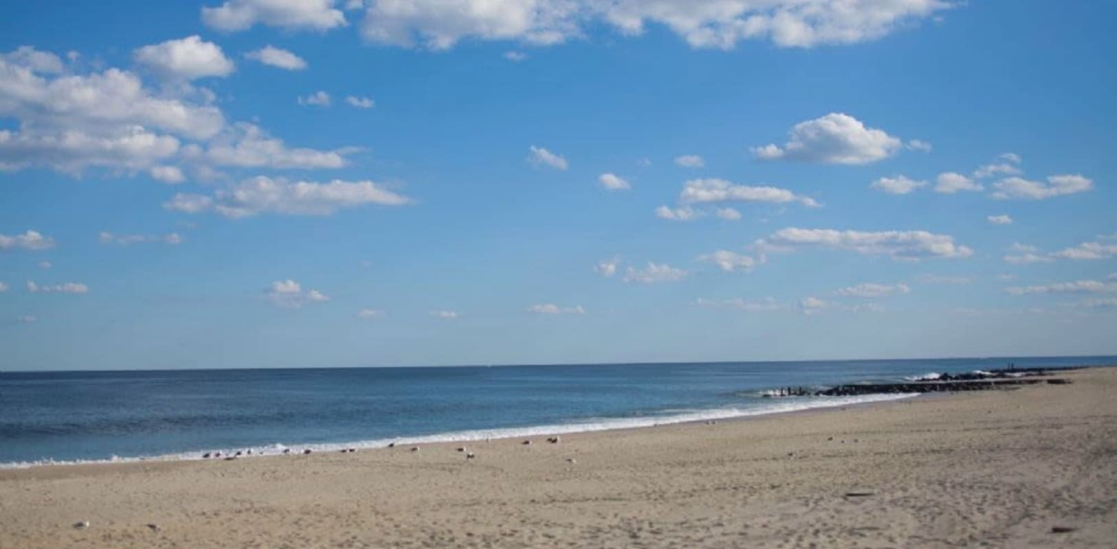 Beautiful beach in Long Branch, New Jersey near Buena Vista Apartments