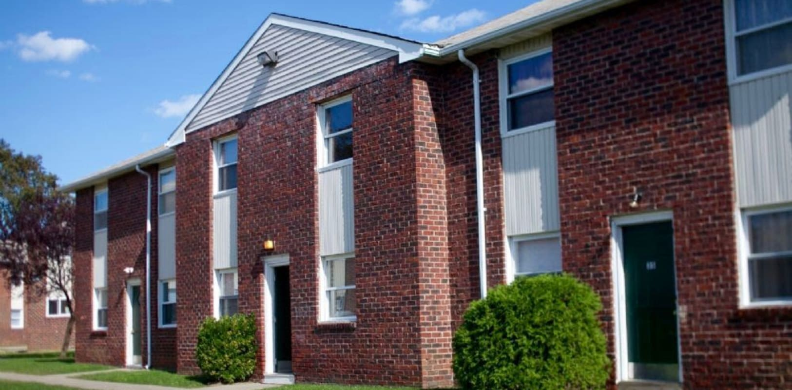 Exterior of Buena Vista Apartments in Long Branch, New Jersey