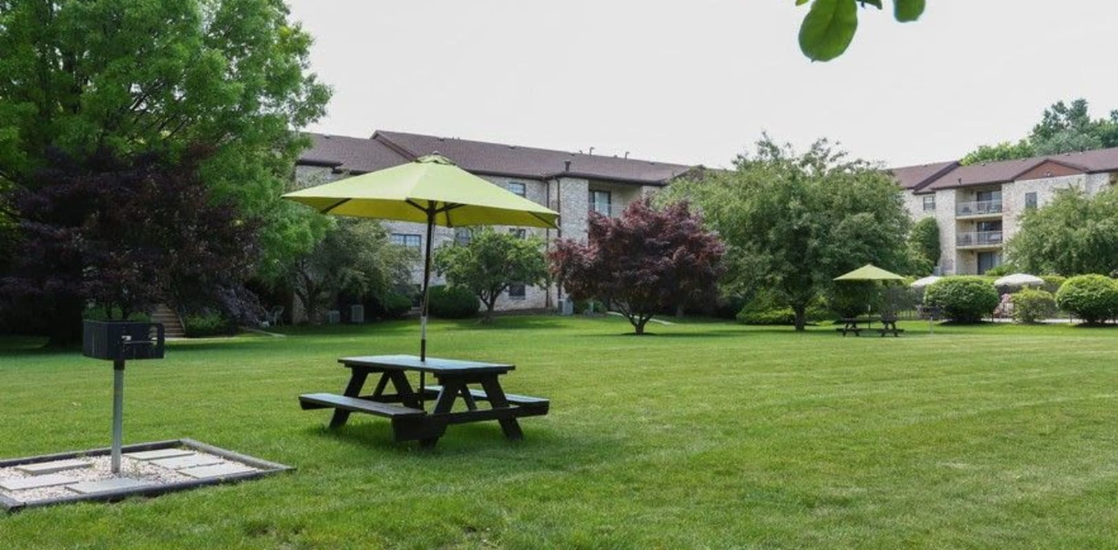 Outdoor picnic area at Country Club in Reading, Pennsylvania