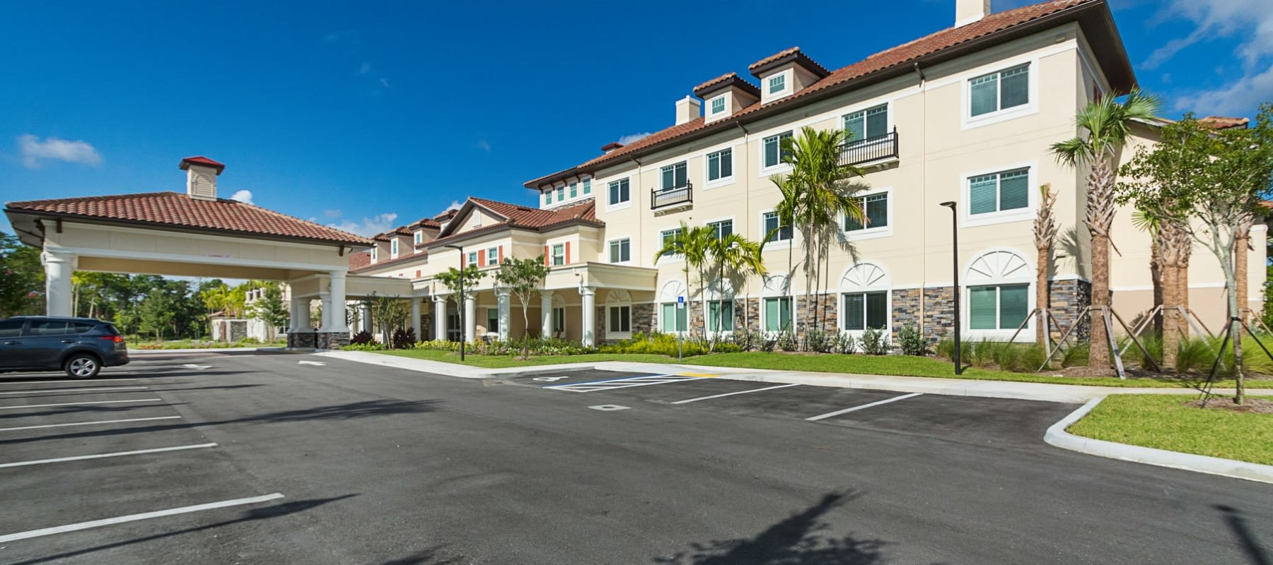 Senior living options at the senior living community in Palm Beach Gardens