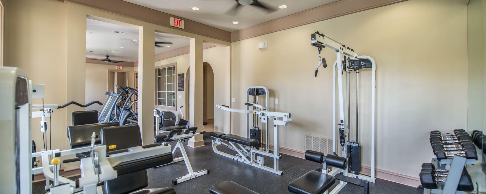 Archer Stone Canyon gym area Archer Stone Canyon in San Antonio, Texas