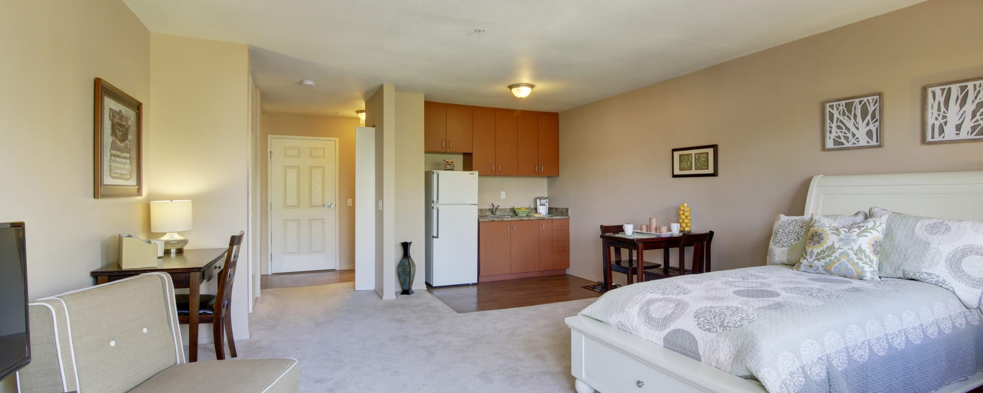 Bedroom at Citrus Place in Riverside, California