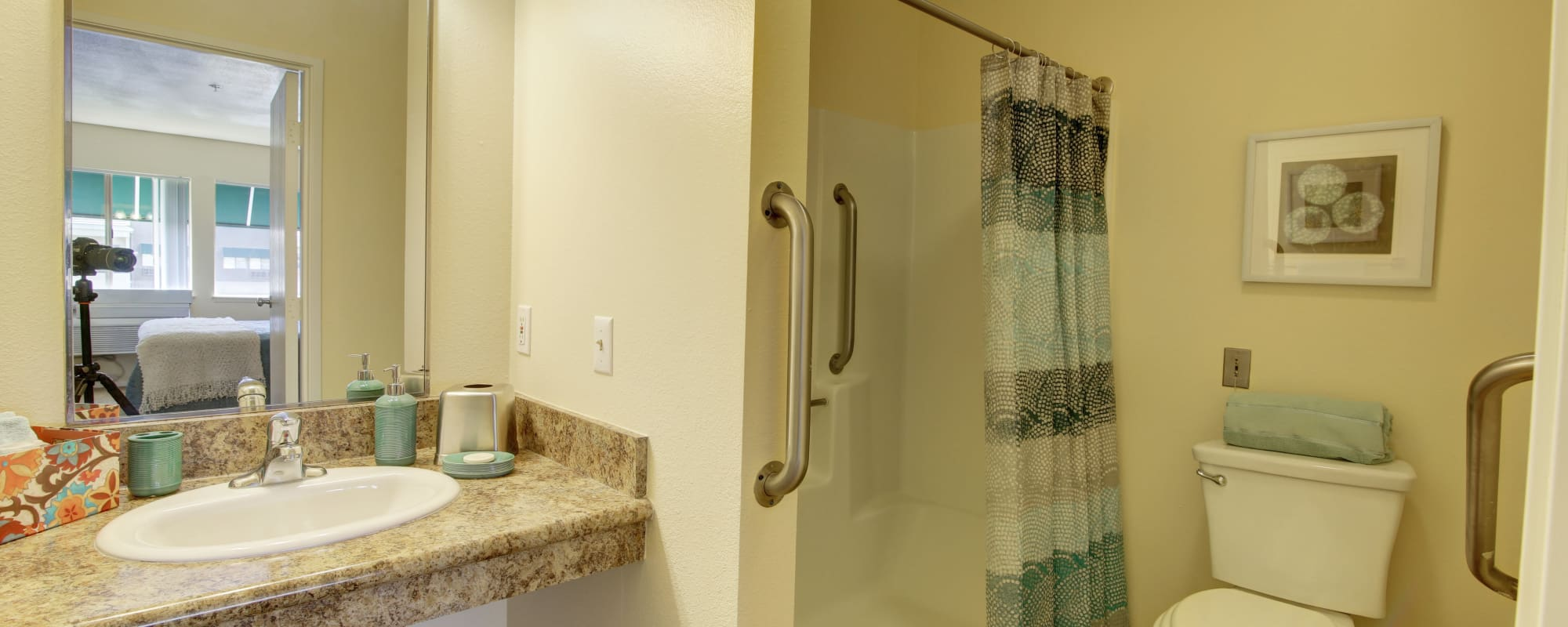 Bathroom at Citrus Place in Riverside, California