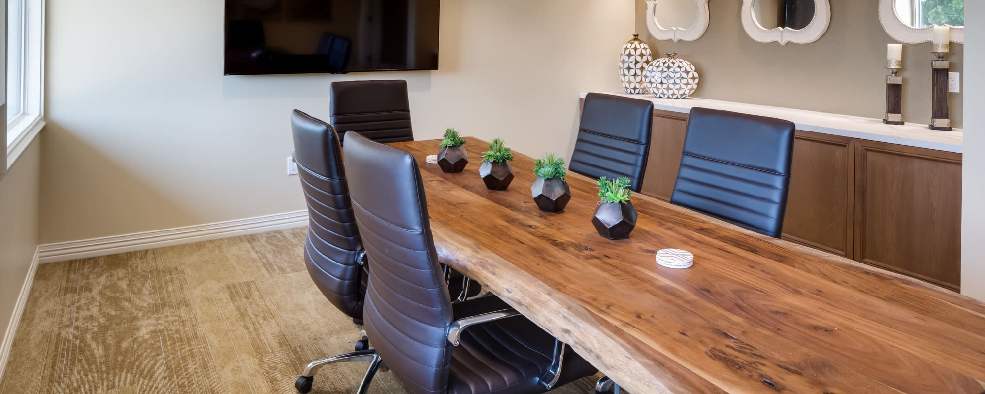 Meeting room at The Montera in La Mesa, California