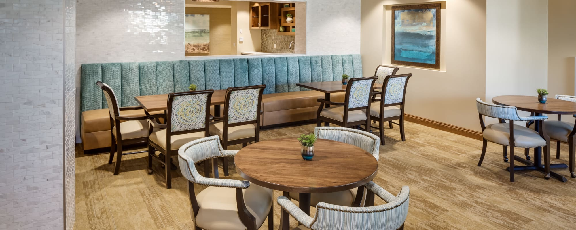 Common area for our residents at The Montera in La Mesa, California