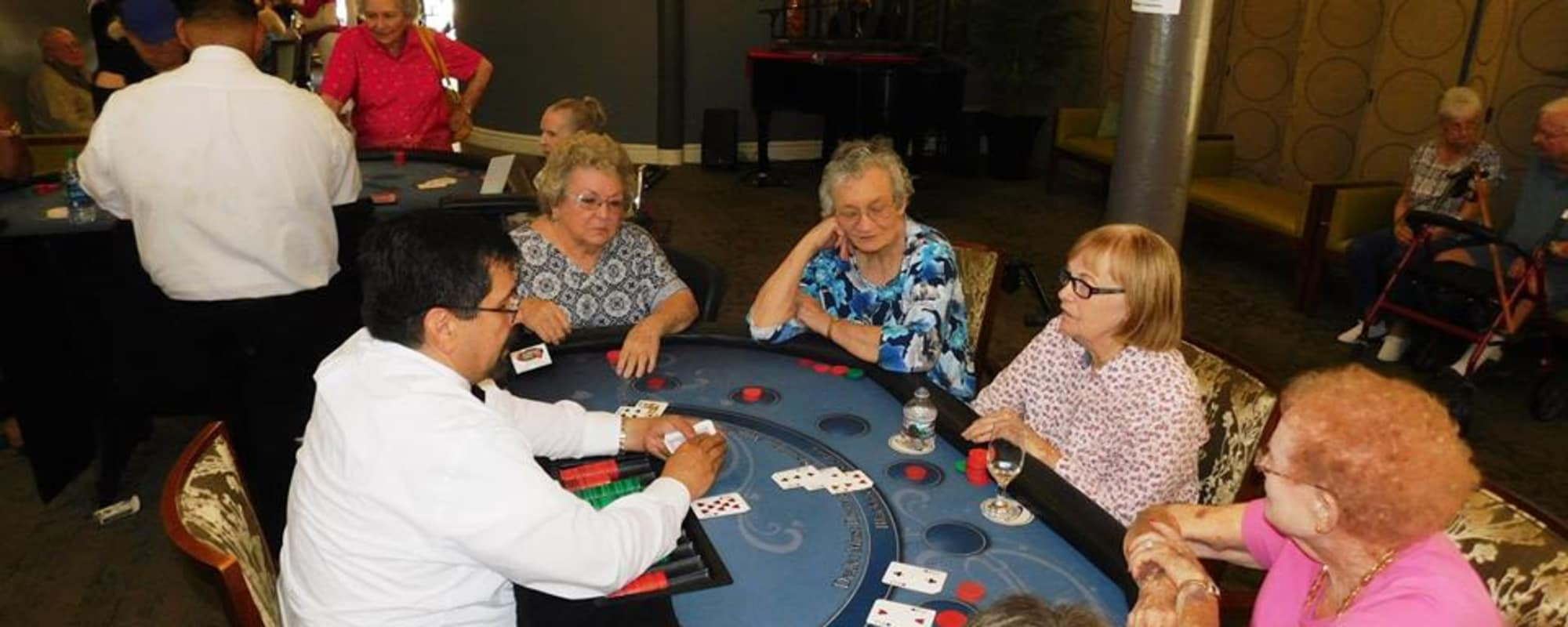 Games at Citrus Place in Riverside, California