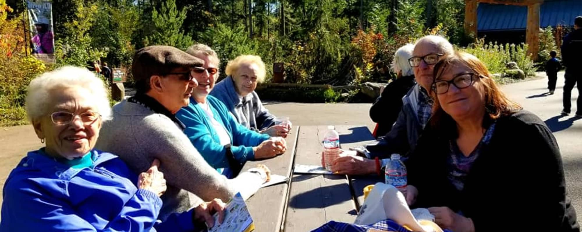 Picnic at The Firs in Olympia, Washington
