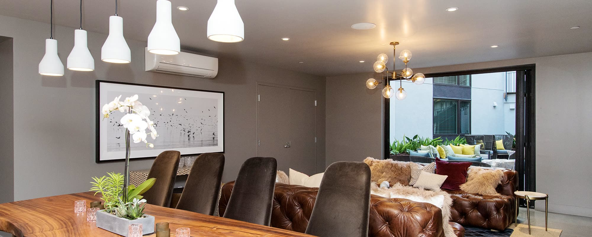 Resident Lounge For Dinner Parties & Hanging Out at The Moran