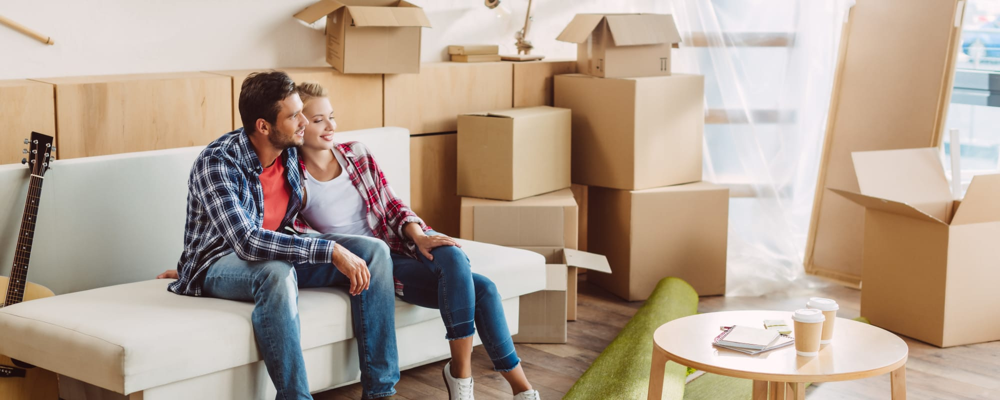 Couple moving into their home from A3 Storage Centers in Odessa, Texas