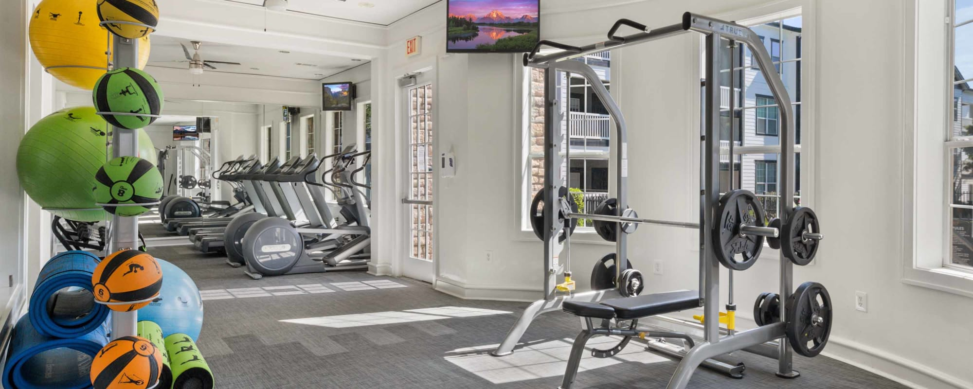 Enjoy Apartments with a Modern Fitness Center at Archer Stone Canyon