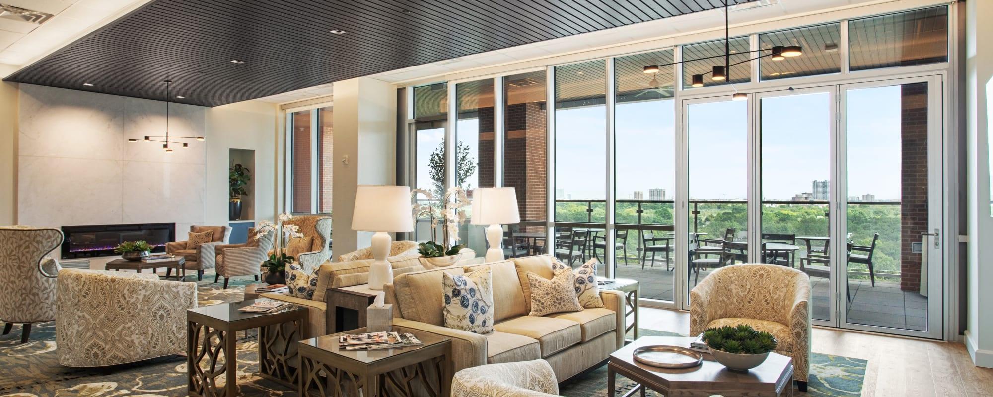 Living Options at The Village of Southampton in Houston, Texas