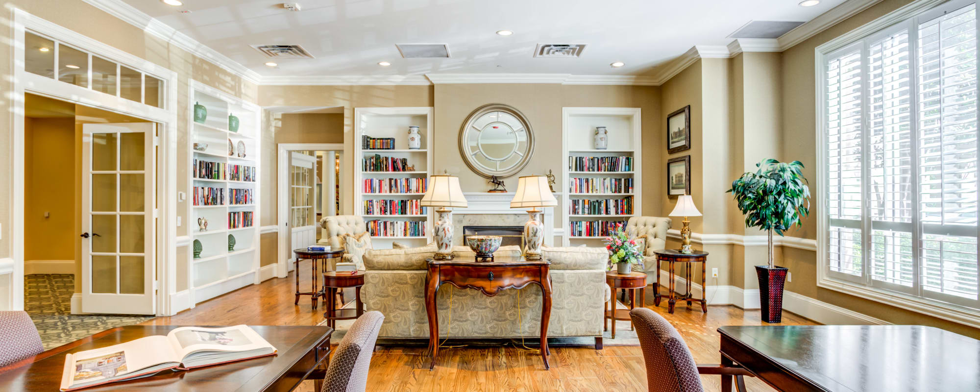 Living Options at The Village of Tanglewood in Houston, Texas