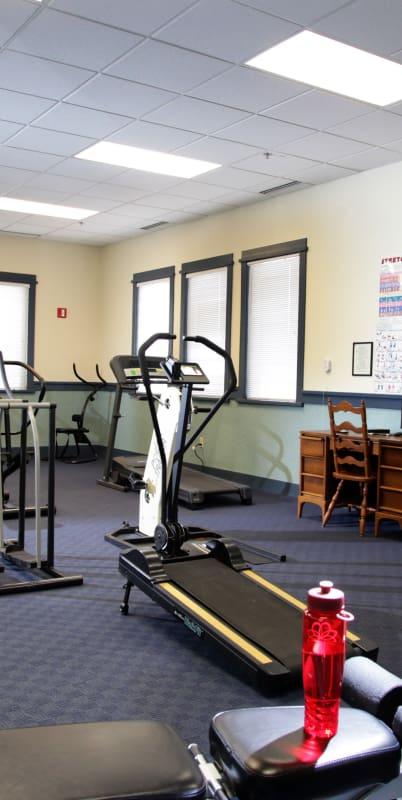 Fitness center at Crystal Terrace of Klamath Falls in Klamath Falls