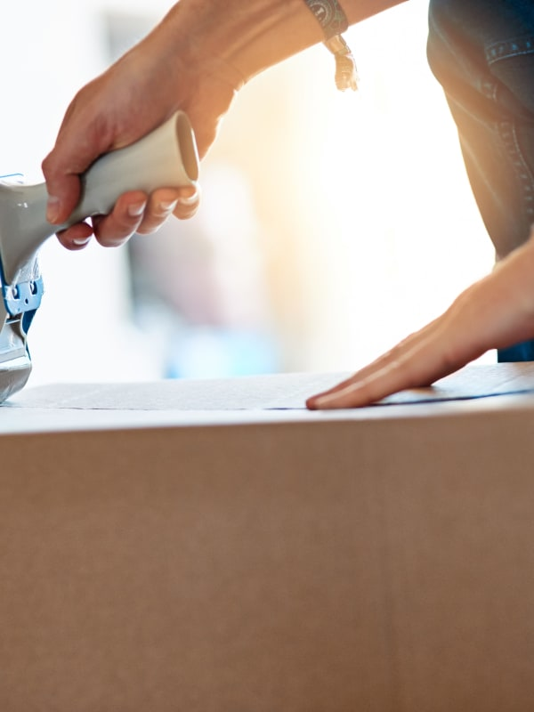 Packing supplies for your household items from Sentry Storage