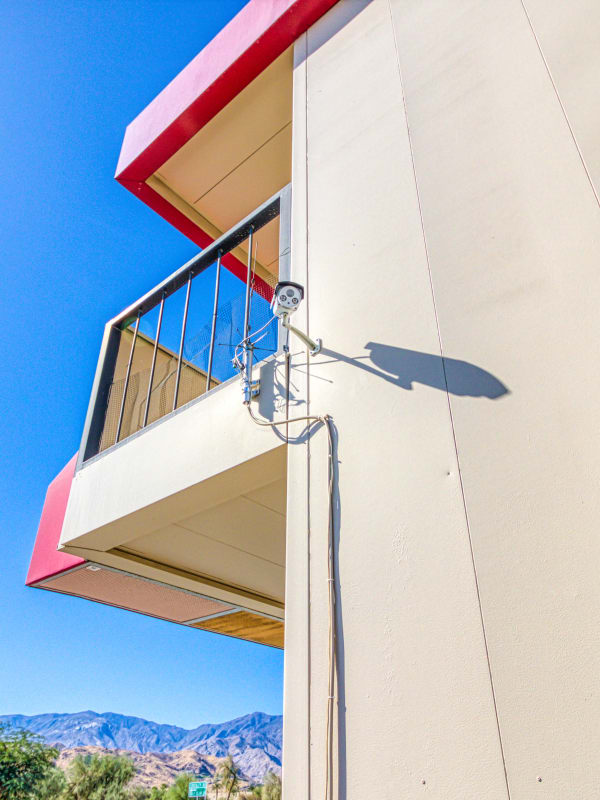 24-hour video surveillance in Cathedral City, California at Devon Self Storage