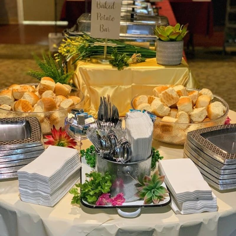 Gourmet meals at Golden Pond Retirement Community in Sacramento, California