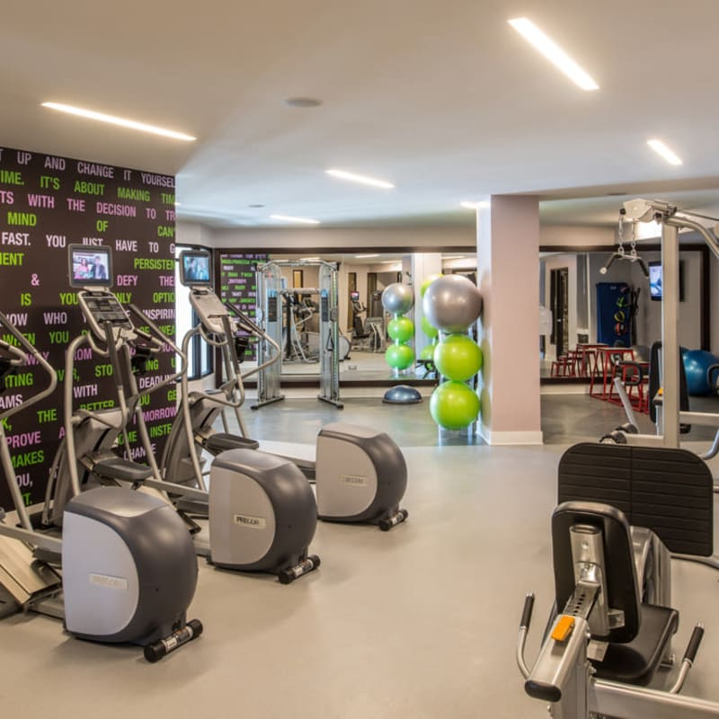 Well Equipped Fitness Center at  in Silver Spring, MD