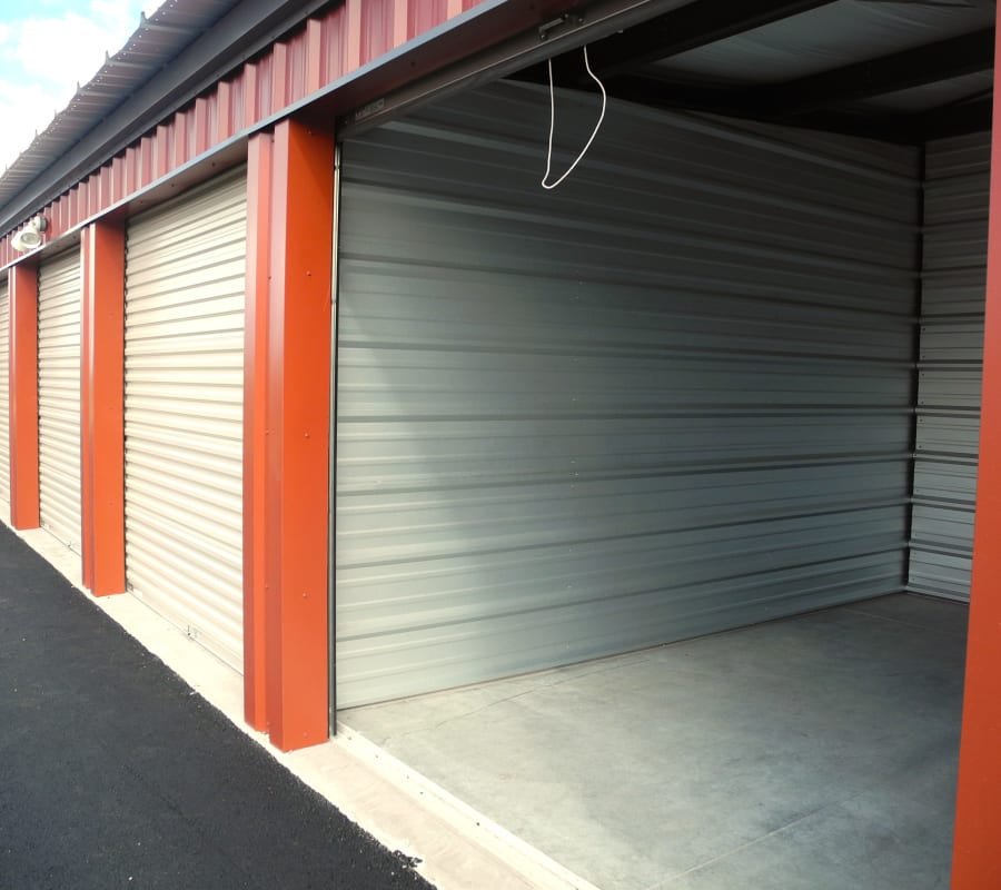 Self storage units for rent at Summit Self-Storage in Victor, ID