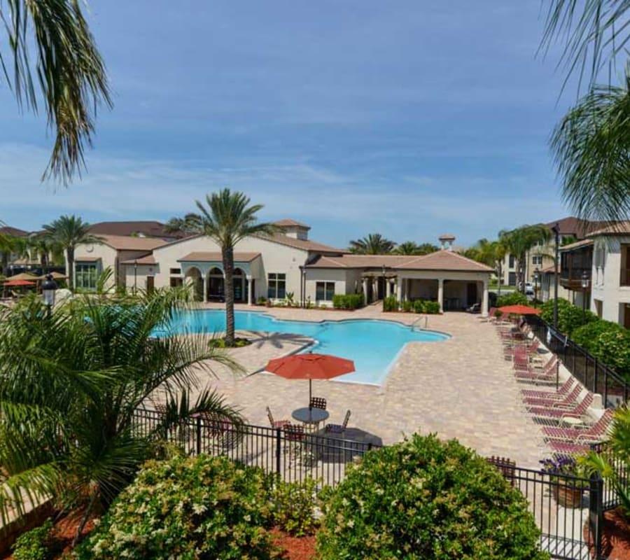 Aerial view of Hacienda Club in Jacksonville, Florida