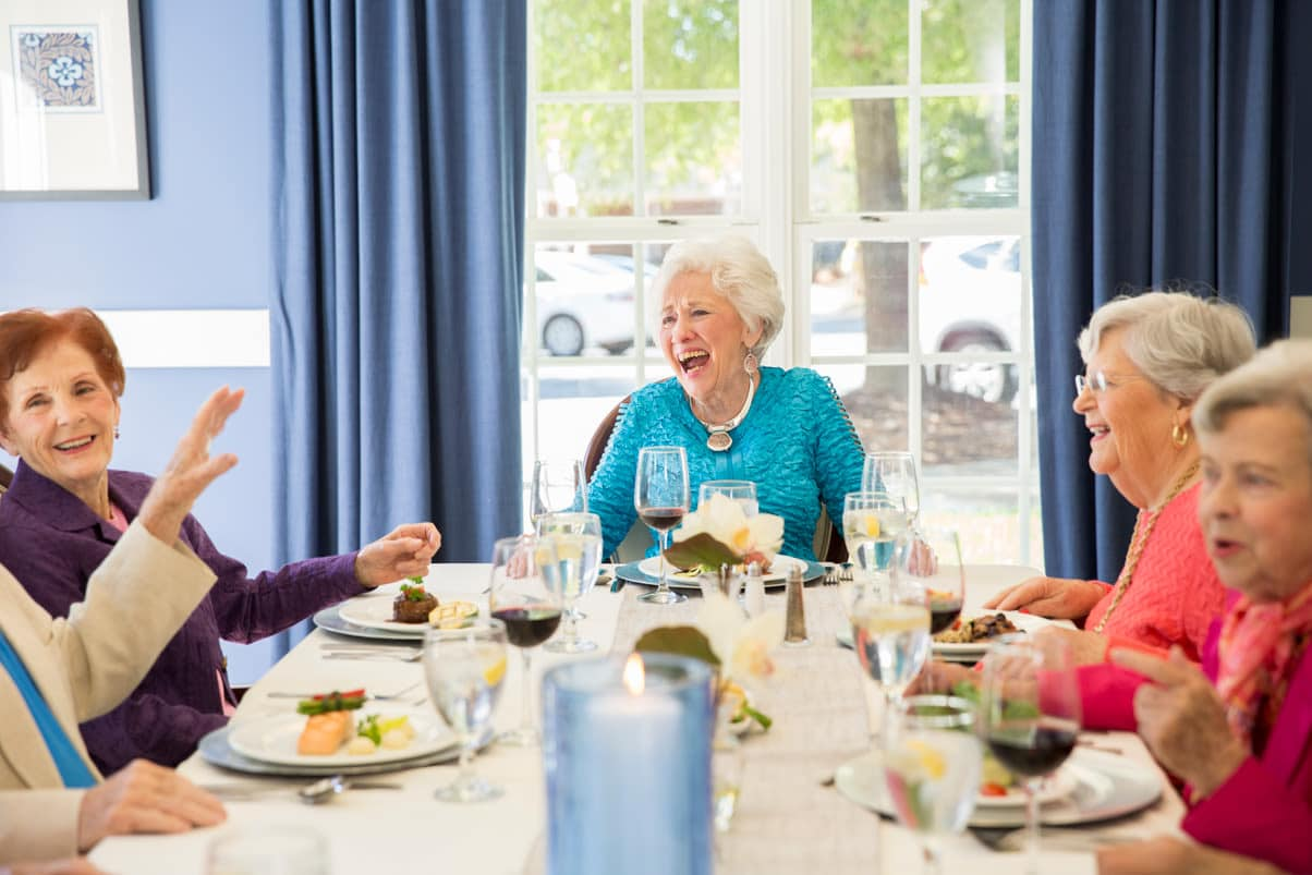Enjoy the Greensboro senior living lifestyle at Abbotswood at Irving Park