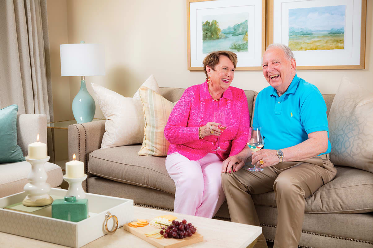 View our community offerings for senior living at The Cardinal at North Hills
