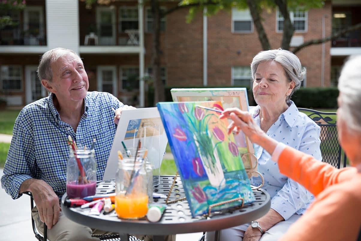 Enjoy the Raleigh senior living lifestyle at Abbotswood at Stonehenge