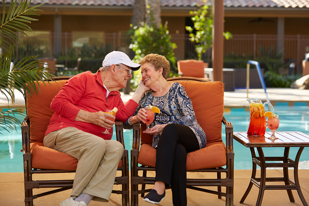View our community offerings for senior living at Valencia Terrace