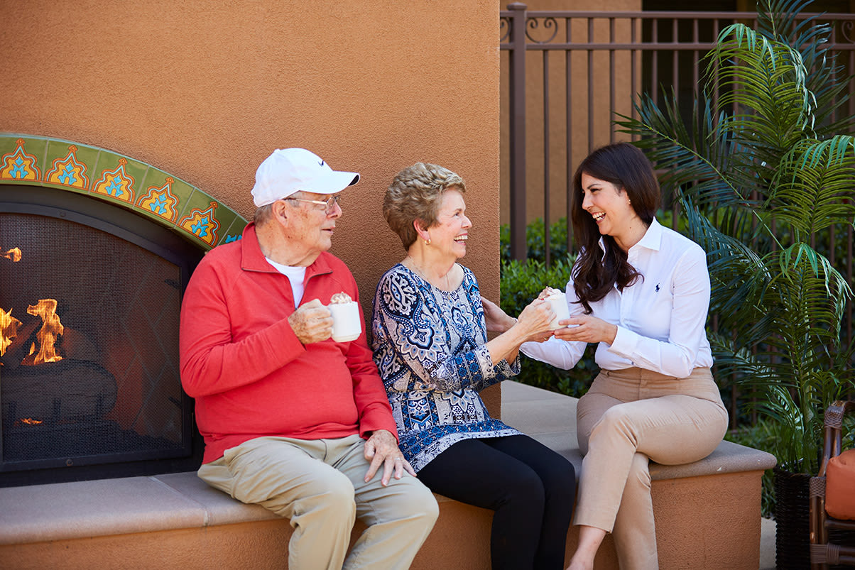 Senior living in Corona has lots of different care levels for you