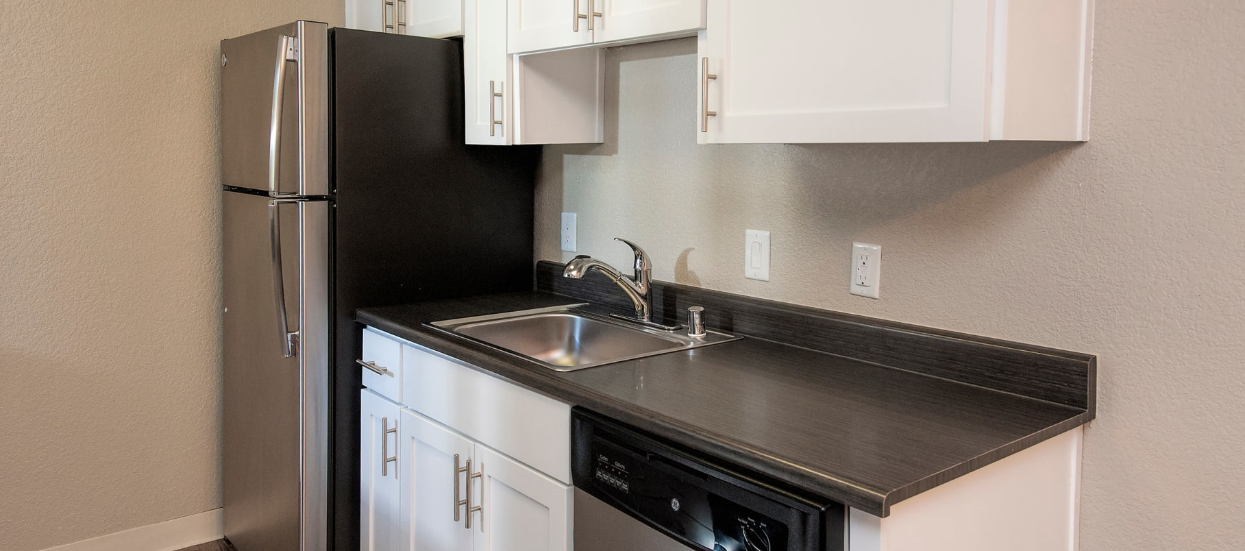 enjoy the kitchen at Plum Tree Apartment Homes in Martinez, California