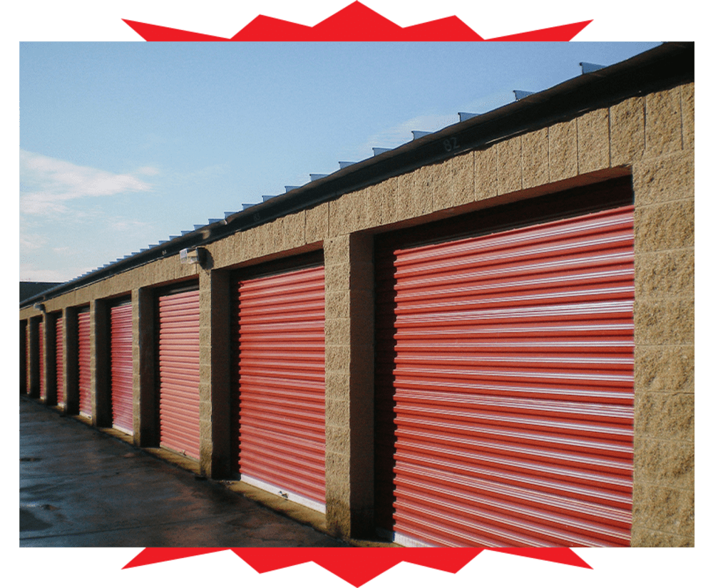 Self storage units at Barth Storage - 60th Ave in Kenosha, Wisconsin