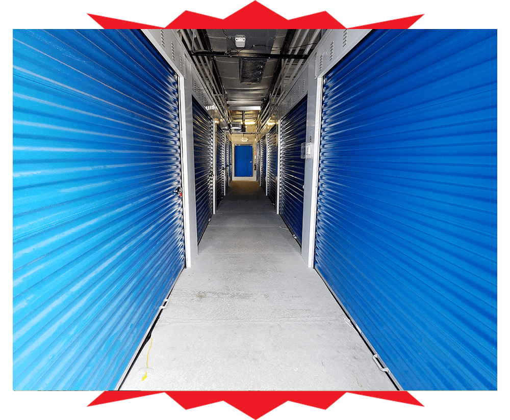 Indoor storage units at Barth Storage - Green Bay Rd in Kenosha, Wisconsin
