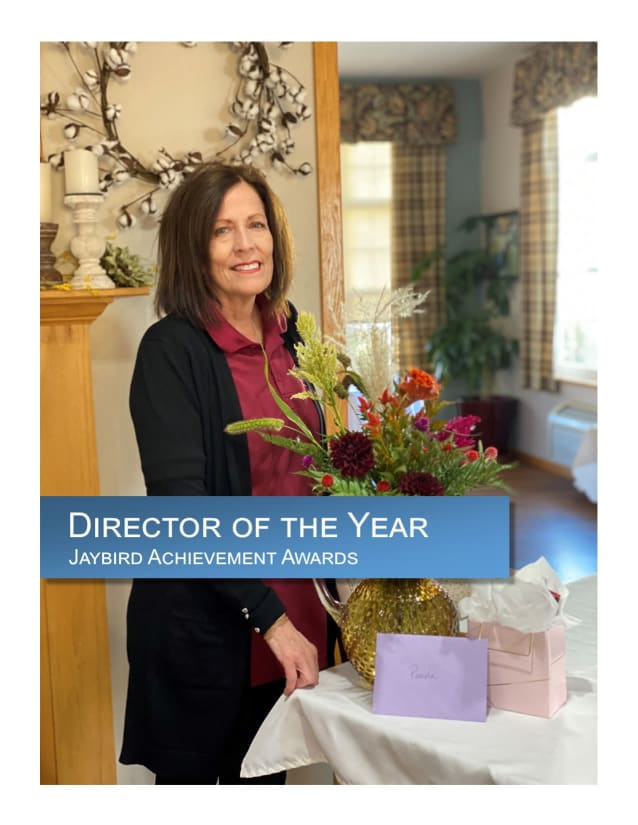 Director of the year award for Glenwood Place