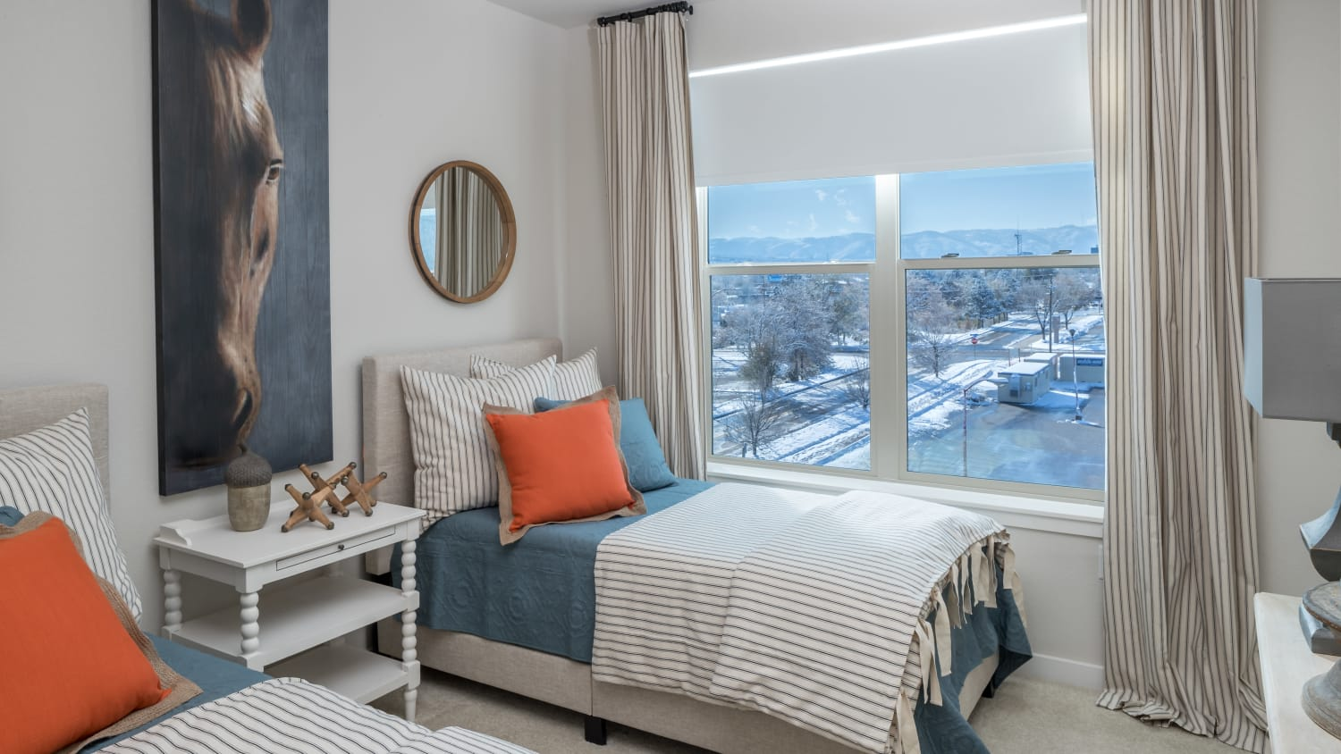 resident bedroom with view
