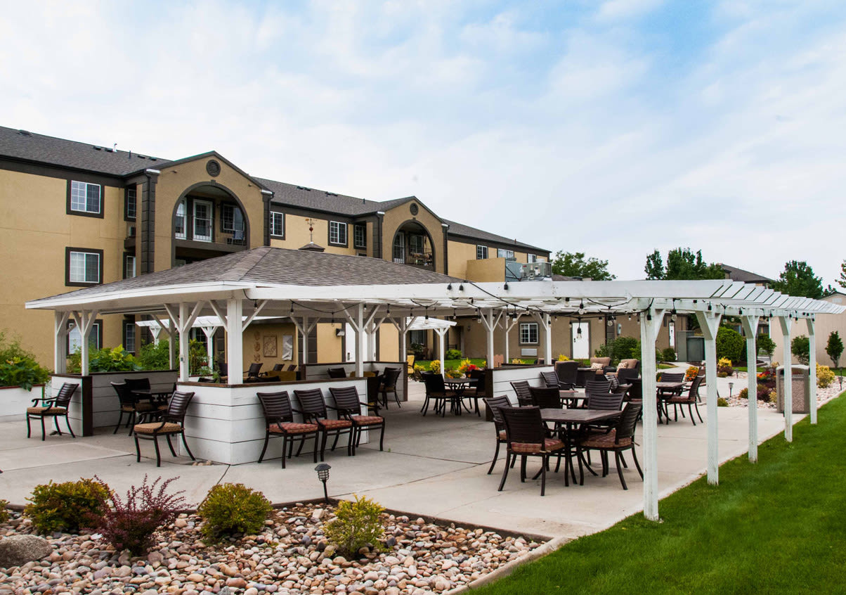 View our community offerings for senior living at Cedarwood at Sandy