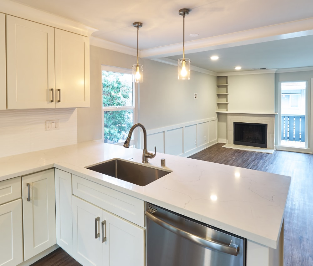 Kitchen at Ladera in Lafayette, California