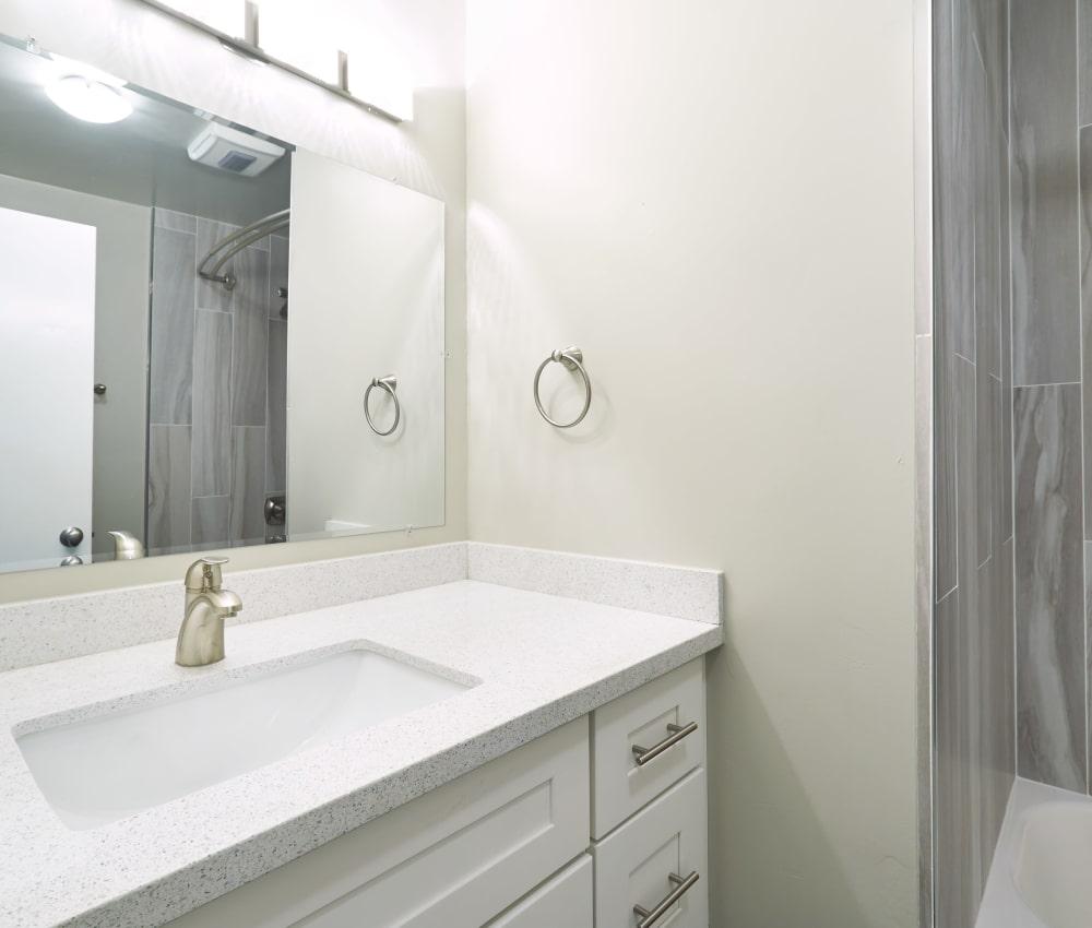 Modern bathroom at Ladera in Lafayette, California