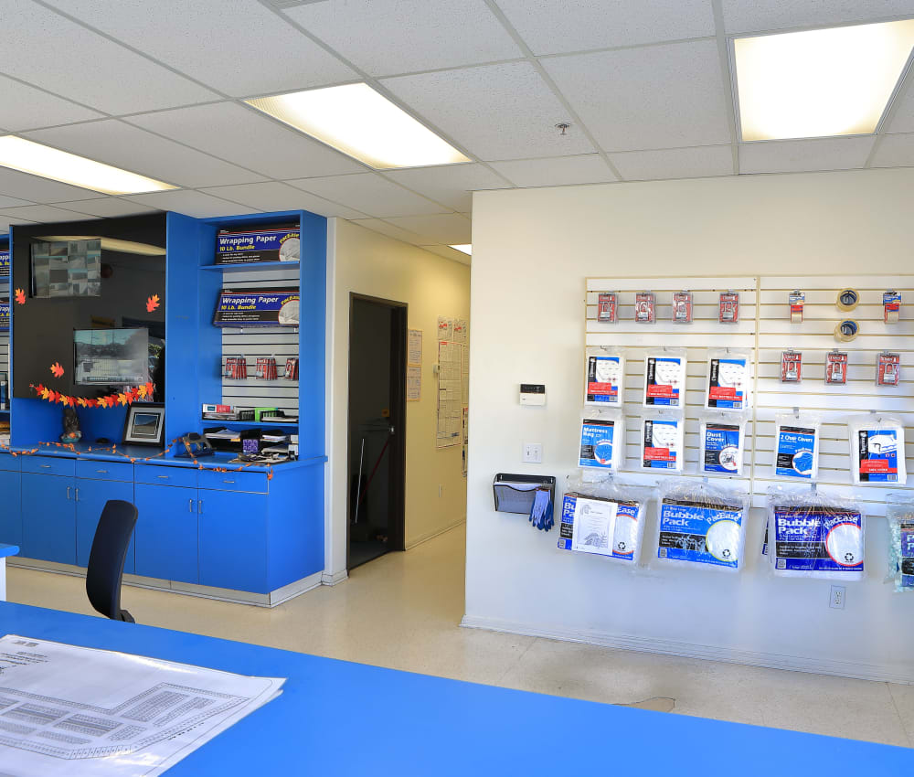 Storage Features at Storage Solutions in Riverside, California