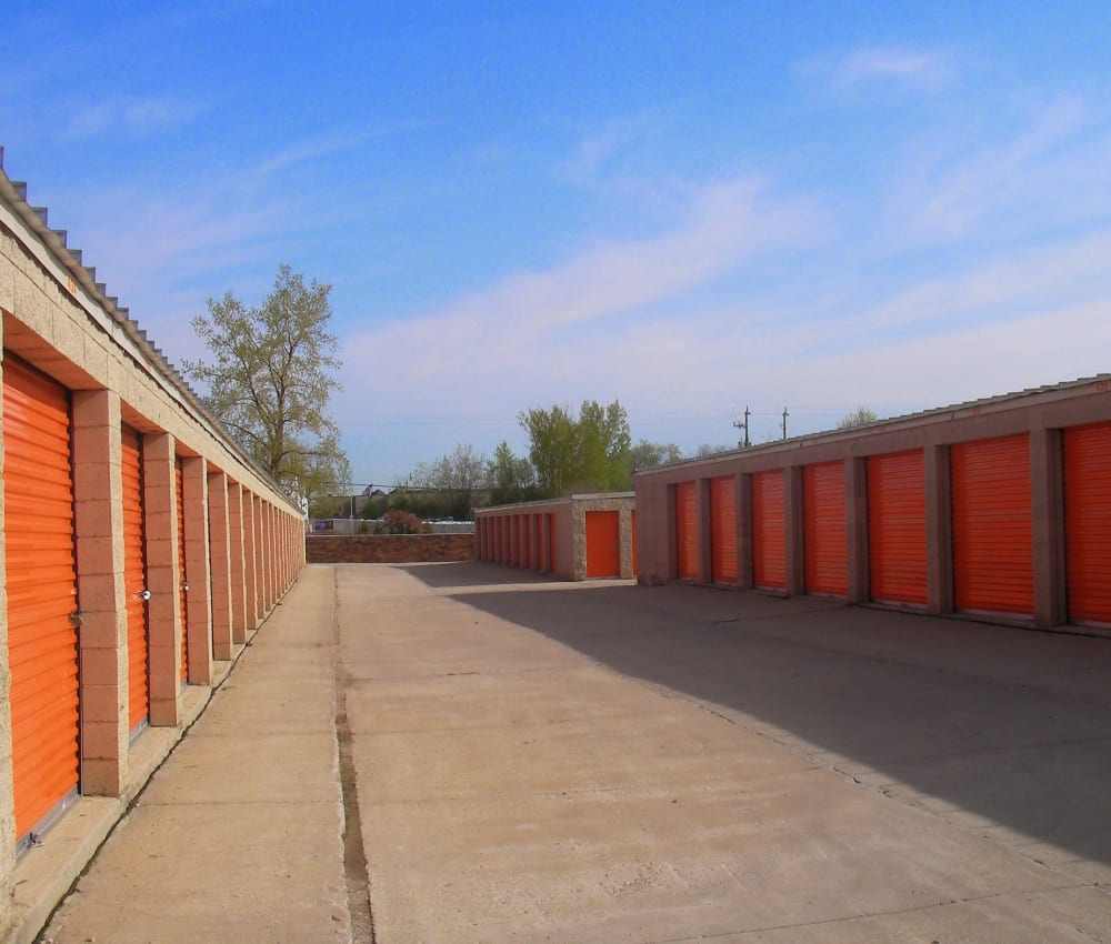 Self storage units for rent at Barth Storage - 60th Ave in Kenosha, Wisconsin