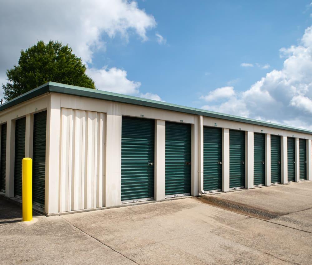 Self storage units for rent at AAA Self Storage at Groometown Rd in Greensboro, North Carolina