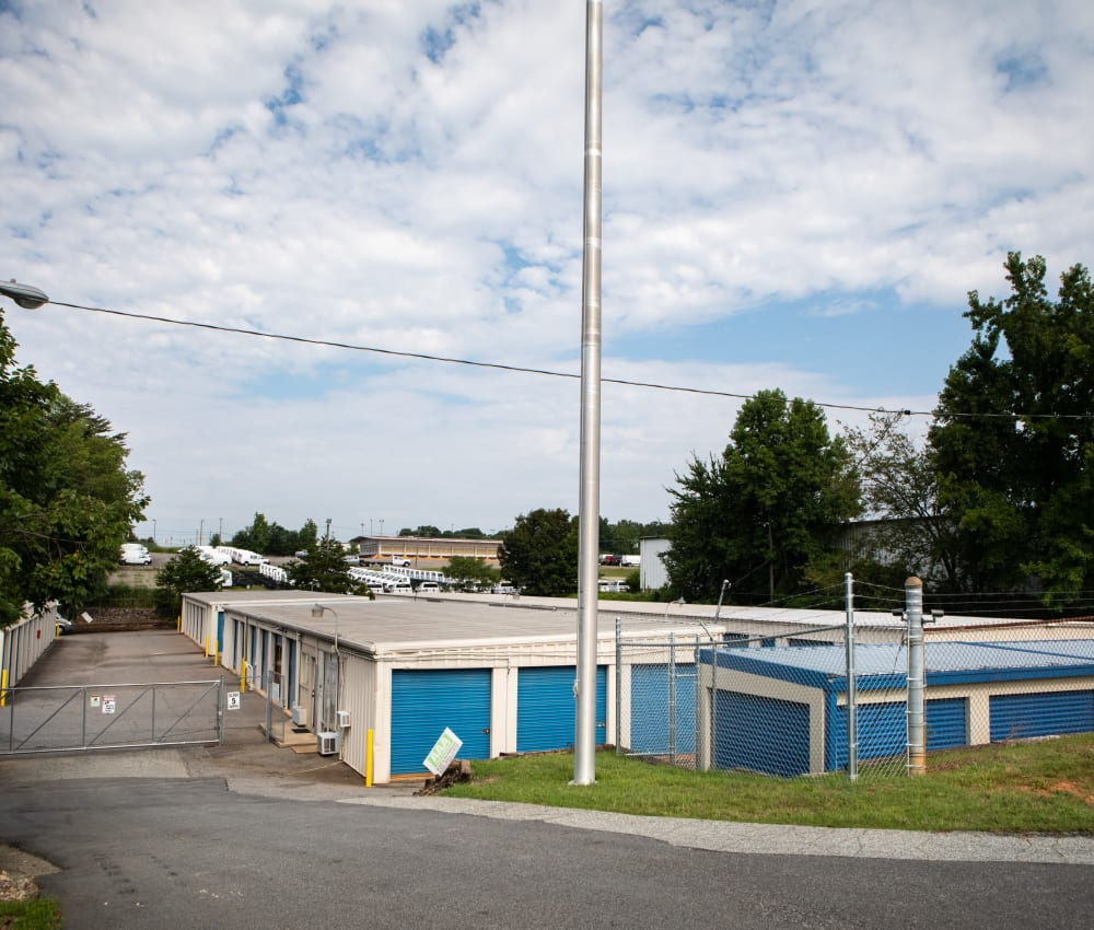 Self storage units for rent at AAA Self Storage at Brookford Industrial Dr in Kernersville, NC