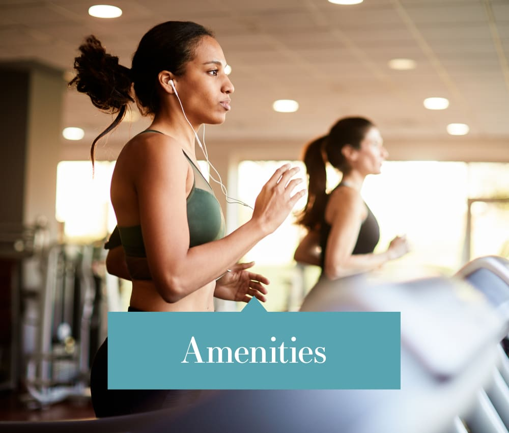 Link to view our amenities at The Greens of Bedford in Tulsa, Oklahoma